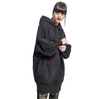URBAN CLASSICS Női kapucnis pulóver - Long, URBAN CLASSICS
