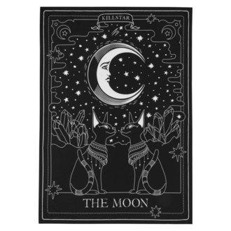 KILLSTAR Zászló - The Moon - FEKETE, KILLSTAR