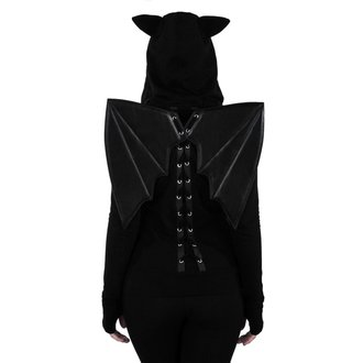 kapucnis pulóver női - Tokyo Nights I'm A Bat - KILLSTAR, KILLSTAR