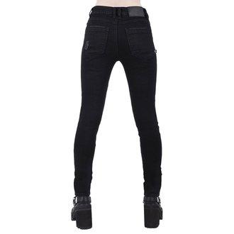 KILLSTAR Női nadrág - Trash Talk Jeans - FEKETE, KILLSTAR