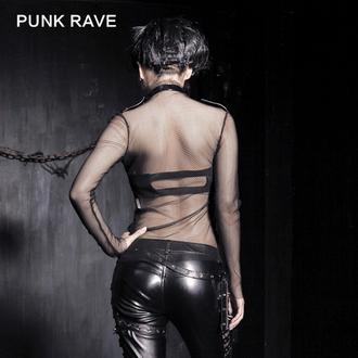 gót és punk póló női - MeshMerizer - PUNK RAVE, PUNK RAVE