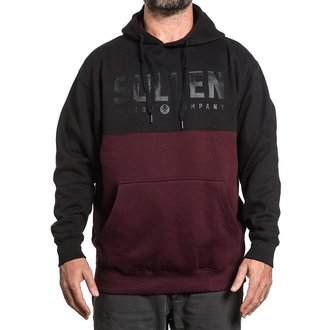 kapucnis pulóver férfi - LINES - SULLEN, SULLEN