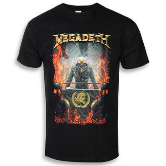 metál póló férfi Megadeth - NEW WORLD ORDER - PLASTIC HEAD, PLASTIC HEAD, Megadeth
