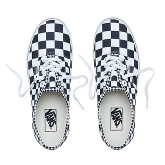 rövidszárú cipő unisex - UA AUTHENTIC (MIX CHECKER) - VANS