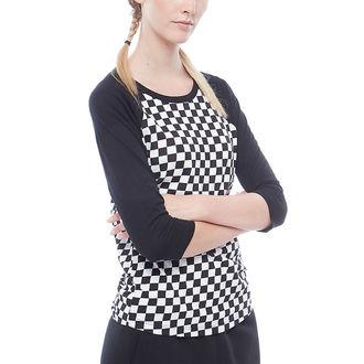 tričko dámské s 3/4 rukávem VANS - WM CHECKS RAGLAN - CHECKERBOARD, VANS