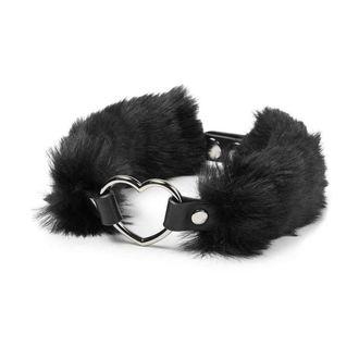 KILLSTAR Nyakék- Venus Fur Choker - Fekete, KILLSTAR
