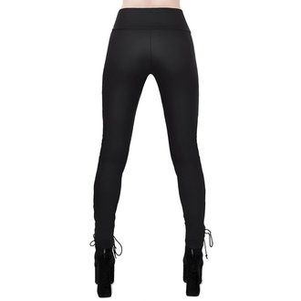 KILLSTAR Női nadrág (Leggings) - Viper Lace-Up, KILLSTAR