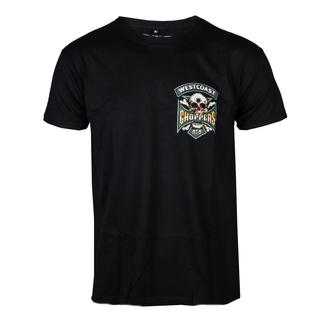 tričko pánské WEST COAST CHOPPERS - HIPSTER HUNTERS - Solid Black, West Coast Choppers