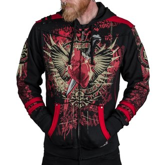 kapucnis pulóver férfi - Revenge - WORNSTAR