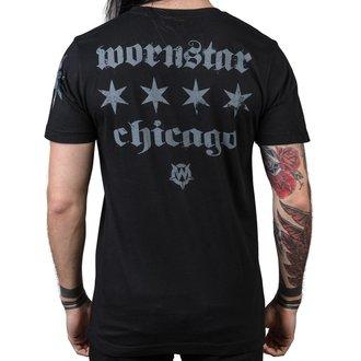 hardcore póló férfi - Chicago Core - WORNSTAR, WORNSTAR