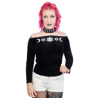 gót és punk póló női - TABITHA CHOKER - TOO FAST, TOO FAST