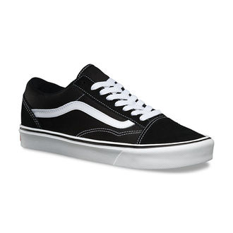 boty VANS - UA Old Skool Lite - Suede/Canvas/Black/White, VANS