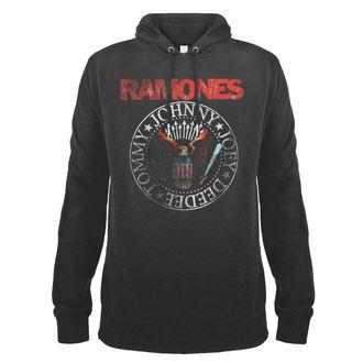 kapucnis pulóver férfi Ramones - AMPLIFIED - AMPLIFIED, AMPLIFIED, Ramones