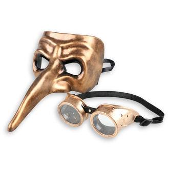 ZOELIBAT Dekoratív maszk (készlet) - Steampunk, ZOELIBAT