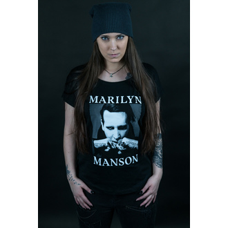 Női póló Marilyn Manson - Fists - ROCK OFF, ROCK OFF, Marilyn Manson