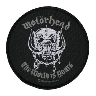 MOTORHEAD Felvarró - THE WORLD IS YOURS - RAZAMATAZ, RAZAMATAZ, Motörhead