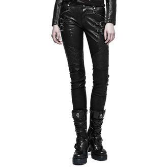 PUNK RAVE női nadrág - K-297 Mantrap leather, PUNK RAVE