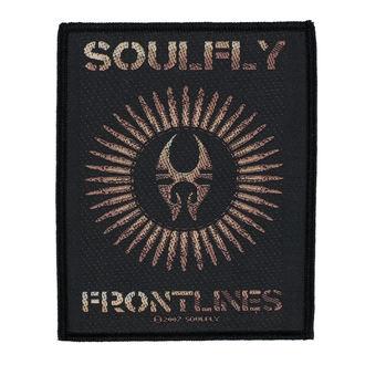 SOULFLY felvarró - FRONTLINES - RAZAMATAZ, RAZAMATAZ, Soulfly