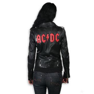 bőrdzseki női AC-DC - LNTC Black - NNM, NNM, AC-DC