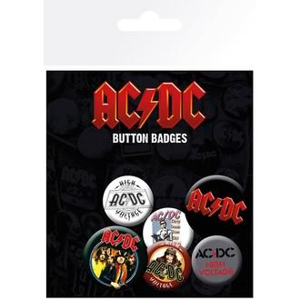 AC  /  DC Kitűzők - GB posters, GB posters, AC-DC