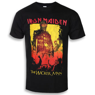 metál póló férfi Iron Maiden - The Wicker Man Fire - ROCK OFF, ROCK OFF, Iron Maiden