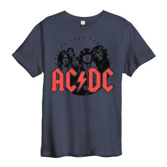 metál póló férfi AC-DC - AMPLIFIED - AMPLIFIED, AMPLIFIED, AC-DC