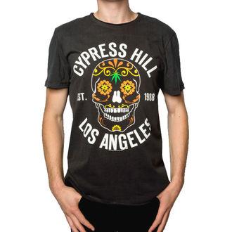 metál póló férfi Cypress Hill - FLORAL SKULL - AMPLIFIED, AMPLIFIED, Cypress Hill