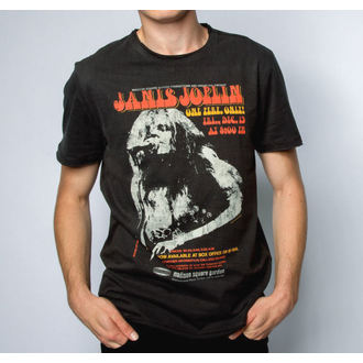 metál póló férfi Janis Joplin - MADISON SQUARE GARDENS - AMPLIFIED, AMPLIFIED, Janis Joplin
