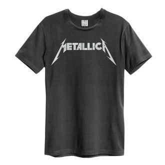 metál póló férfi Metallica - LOGO - AMPLIFIED, AMPLIFIED, Metallica