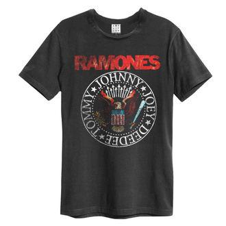 metál póló férfi Ramones - Vintage Sael - AMPLIFIED, AMPLIFIED, Ramones