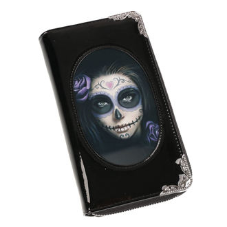 ANNE STOKES Pénztárca - Day Of The Dead - Fekete, ANNE STOKES