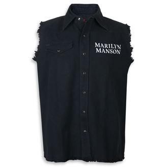 Marilyn Manson Ujjatlan ing (mellény) - Cross Logo - RAZAMATAZ, RAZAMATAZ, Marilyn Manson