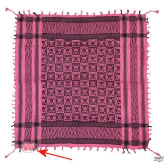 kendő ARAFAT - palestina - koponya 29 - rózsaszín - SÉRÜLT