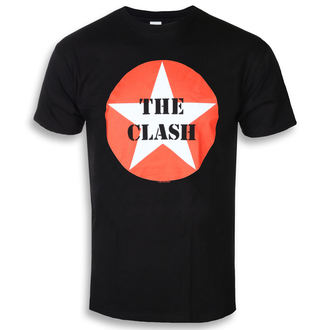metál póló férfi Clash - STAR BADGE - PLASTIC HEAD