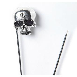 DISTURBIA Biztonsági tű - Dead Head - AW18P16