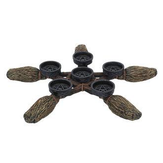 Broomstick Pentagram Gyertya tartó (dekoráció), NNM