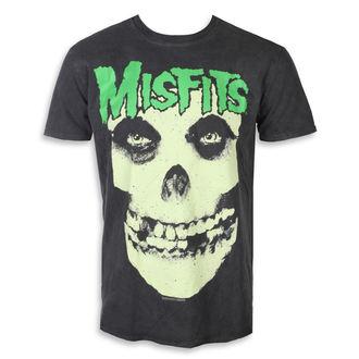 metál póló férfi Misfits - LARGE SKULL - PLASTIC HEAD, PLASTIC HEAD, Misfits