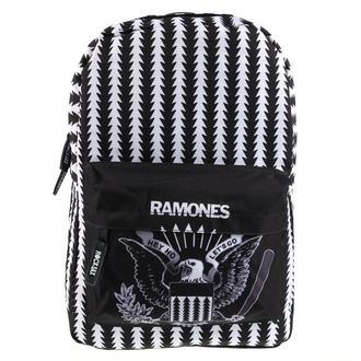Hátizsák RAMONES - LETS GO CREST - KLASSZIKUS, Ramones