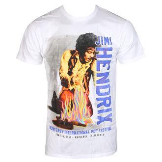 metál póló férfi Jimi Hendrix - RAINBOW GUITAR FIRE - BRAVADO, BRAVADO, Jimi Hendrix