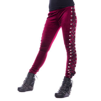 CHEMICAL BLACK Női leggings - BEETLE - PIROS, CHEMICAL BLACK