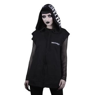 kapucnis pulóver unisex - hail satan - BELIAL