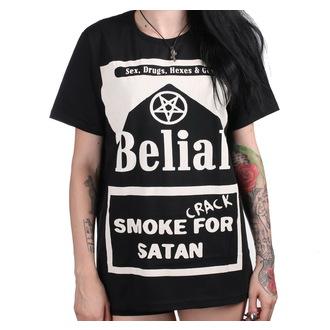 póló unisex - Smoke Crack for Satan - BELIAL, BELIAL