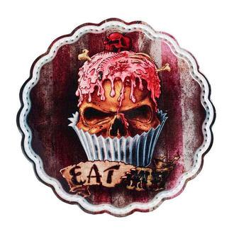 ALCHEMY GOTHIC Dekoráció (felszolgáló tálca, háromlábú állvány) - Skull Cupcake, ALCHEMY GOTHIC