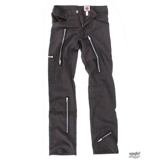 nadrág férfi Black Pistol - Two Leg Pants Tartán - Grey, BLACK PISTOL