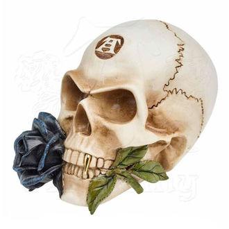 ALCHEMY GOTHIC Dekoráció - Alchemist Skull with Rose, ALCHEMY GOTHIC
