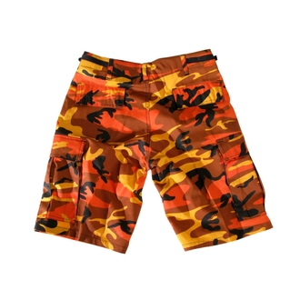 rövidnadrág férfi US-BDU - Army - Orange Camo, BOOTS & BRACES