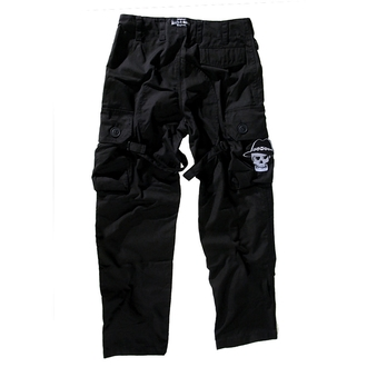 nadrág férfi BOOTS & BRACES - Pant Nightmare - Black - 300616, BOOTS & BRACES