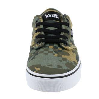 rövidszárú cipő férfi - MN ATWOOD (CHECK FOX) - VANS, VANS