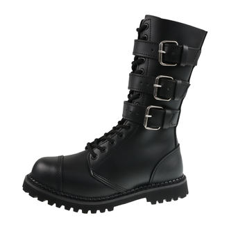 bőr csizma unisex - Phantom Boots with Buckle - BRANDIT, BRANDIT