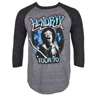 metál póló férfi Jimi Hendrix - AUTHENTC 70 TOUR - BRAVADO, BRAVADO, Jimi Hendrix
